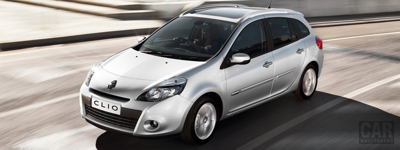 Cars wallpapers Renault Clio Estate - 2011 - Car wallpapers