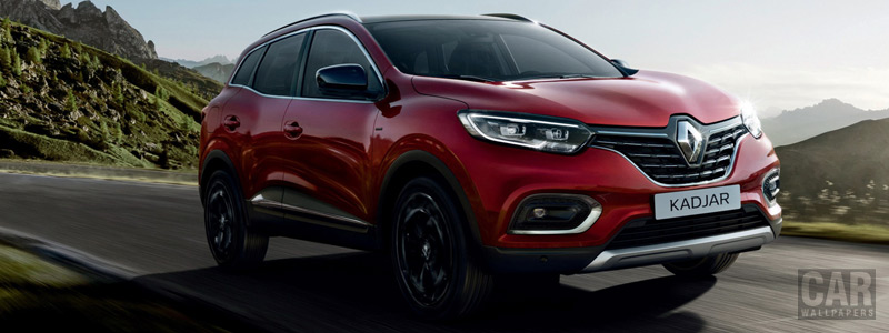 Обои автомобили Renault Kadjar Black Edition - 2018 - Car wallpapers