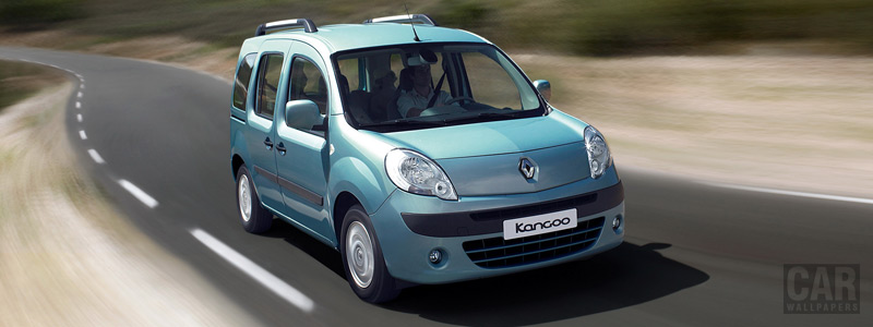 Cars wallpapers Renault Kangoo - 2007 - Car wallpapers