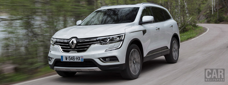 Обои автомобили Renault Koleos Initiale Paris - 2017 - Car wallpapers