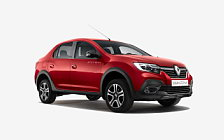Обои автомобили Renault Logan Stepway City - 2018