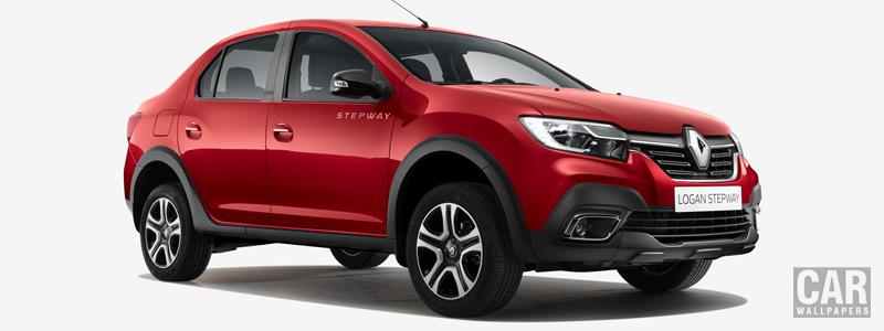 Обои автомобили Renault Logan Stepway City - 2018 - Car wallpapers