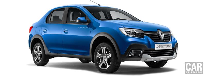 Обои автомобили Renault Logan Stepway - 2018 - Car wallpapers