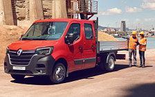 Обои автомобили Renault Master Double Cab Tipper - 2019