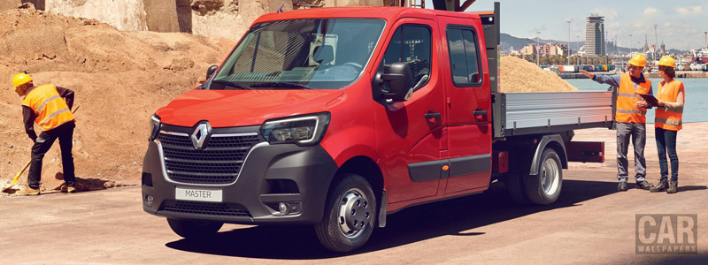 Обои автомобили Renault Master Double Cab Tipper - 2019 - Car wallpapers