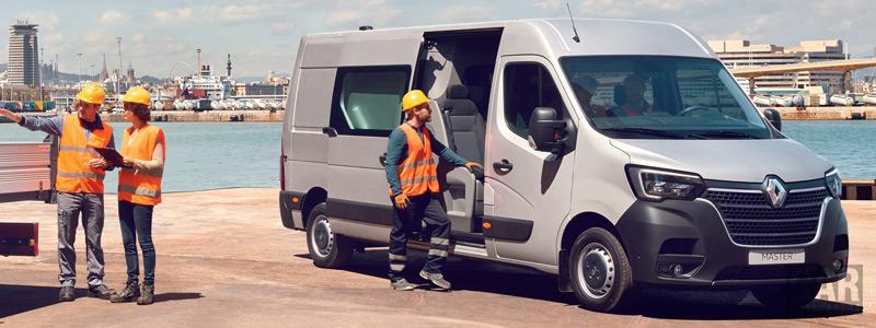 Обои автомобили Renault Master L3H2 Crew Van - 2019 - Car wallpapers
