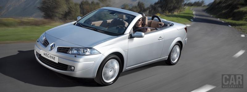 Обои автомобили Renault Megane Coupe Cabriolet - 2005 - Car wallpapers
