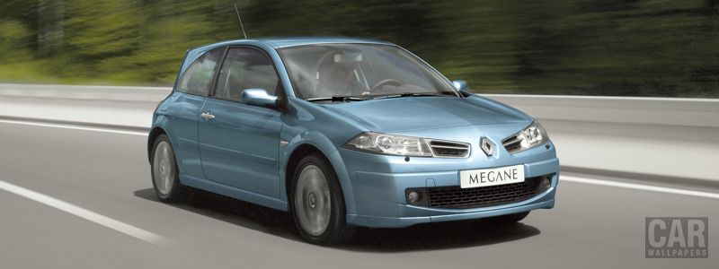 Обои автомобили Renault Megane GT - 2006 - Car wallpapers