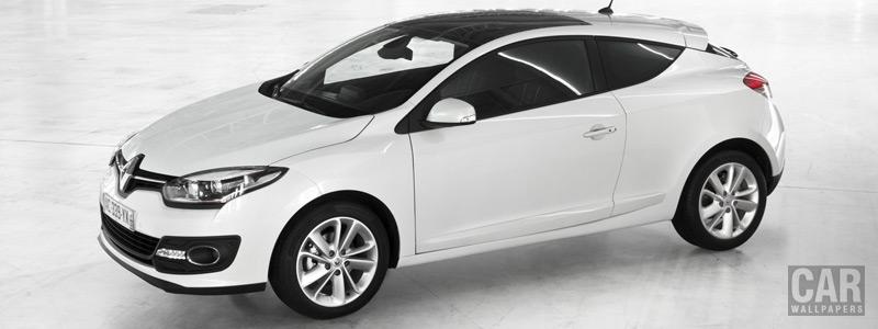 Обои автомобили Renault-Megane-Coupe-2013 - Car wallpapers