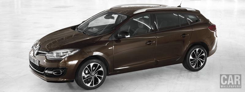 Обои автомобили Renault-Megane-Estate-Bose-2013 - Car wallpapers