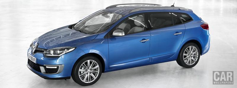 Обои автомобили Renault-Megane-Estate-GT-Line-2013 - Car wallpapers
