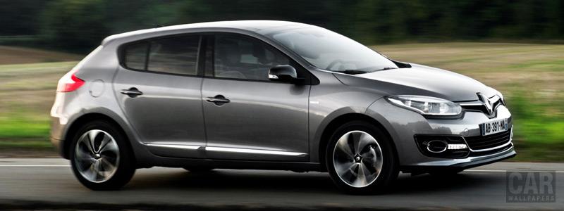 Обои автомобили Renault-Megane-Hatchback-2013 - Car wallpapers