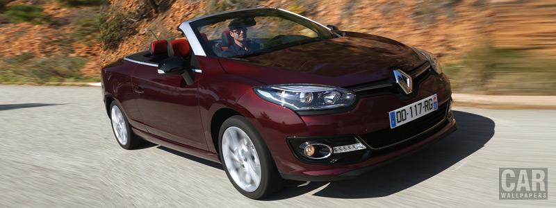 Обои автомобили Renault-Megane-Coupe-Cabriolet-Intens-2014 - Car wallpapers