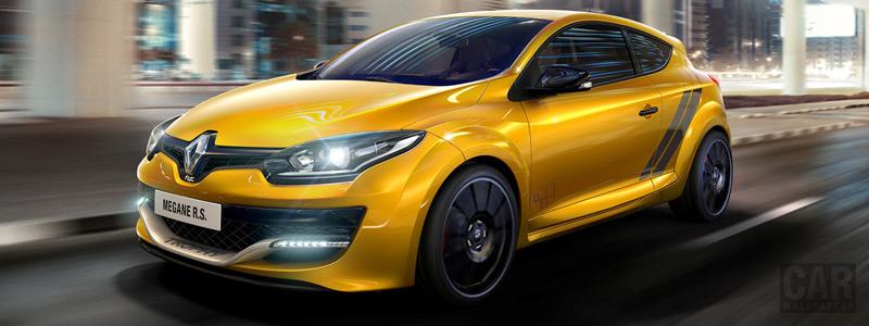Обои автомобили Renault-Megane-RS-275-Trophy-2014 - Car wallpapers