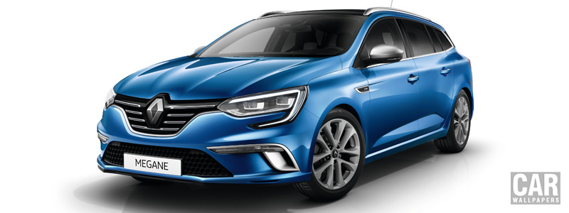 Обои автомобили Renault Megane Estate GT Line - 2016 - Car wallpapers
