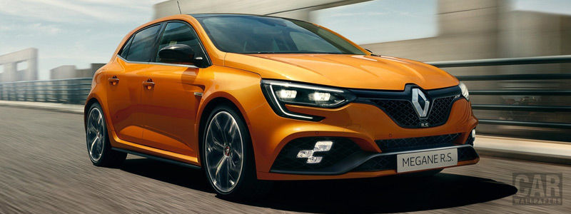 Обои автомобили Renault-Megane-RS-2017 - Car wallpapers