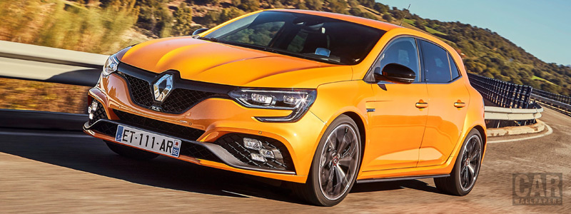 Обои автомобили Renault Megane R.S. Sport chassis - 2018 - Car wallpapers