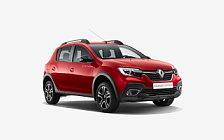 Обои автомобили Renault Sandero Stepway City - 2018
