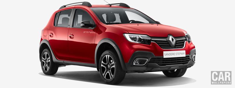 Обои автомобили Renault Sandero Stepway City - 2018 - Car wallpapers