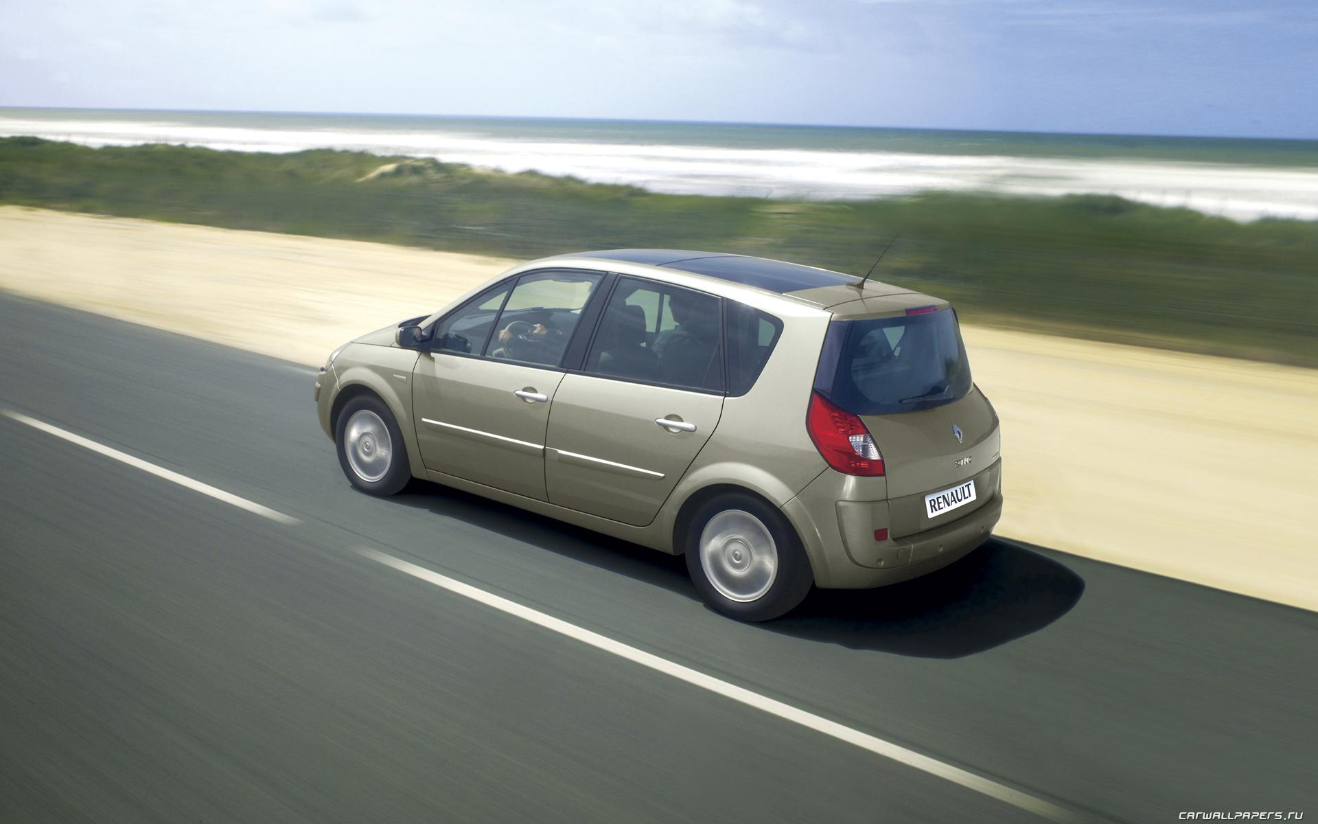 Cars Desktop Wallpapers Renault Scenic 2006