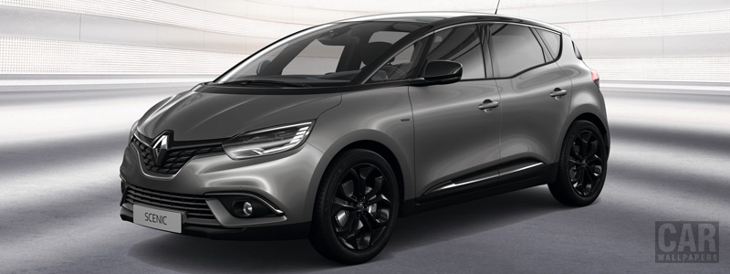 Обои автомобили Renault Scenic Black Edition - 2019 - Car wallpapers
