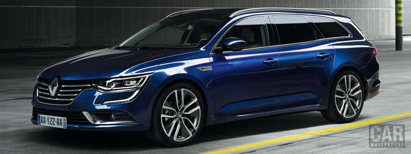 Обои автомобили Renault Talisman Estate - 2015 - Car wallpapers