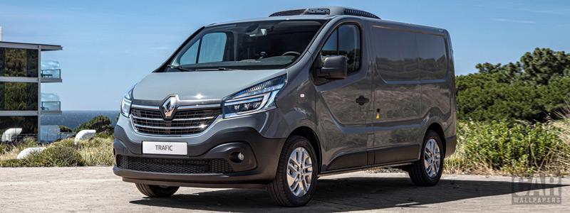 Обои автомобили Renault Trafic Refrigerated Van - 2019 - Car wallpapers