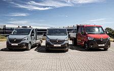 Обои автомобили Renault Trafic Tipper - 2019
