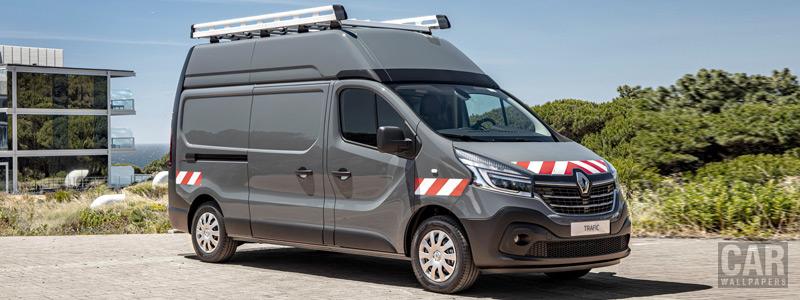 Обои автомобили Renault Trafic Workshop Van - 2019 - Car wallpapers