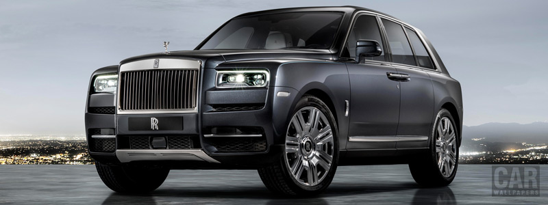 Обои автомобили Rolls-Royce Cullinan - 2018 - Car wallpapers