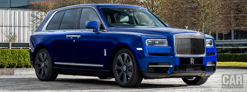 Обои автомобили Rolls-Royce Cullinan Shanghai Motor Show - 2019 - Car wallpapers
