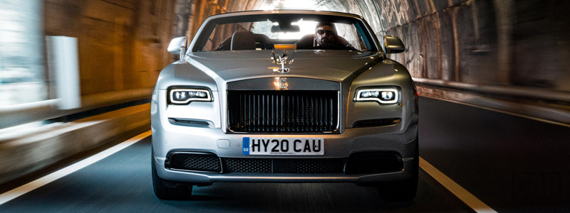 Обои автомобили Rolls-Royce Dawn Silver Bullet - 2020 - Car wallpapers
