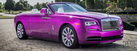 Rolls-Royce Dawn in Fuxia - 2017