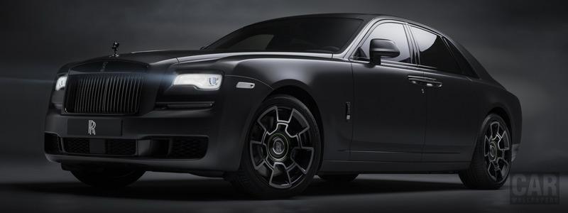 Обои автомобили Rolls-Royce Ghost Black Badge - 2019 - Car wallpapers