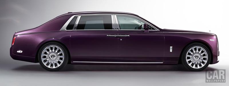 Обои автомобили Rolls-Royce Phantom EWB - 2017 - Car wallpapers