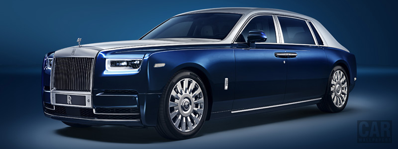Обои автомобили Rolls-Royce Phantom EWB Chengdu - 2018 - Car wallpapers