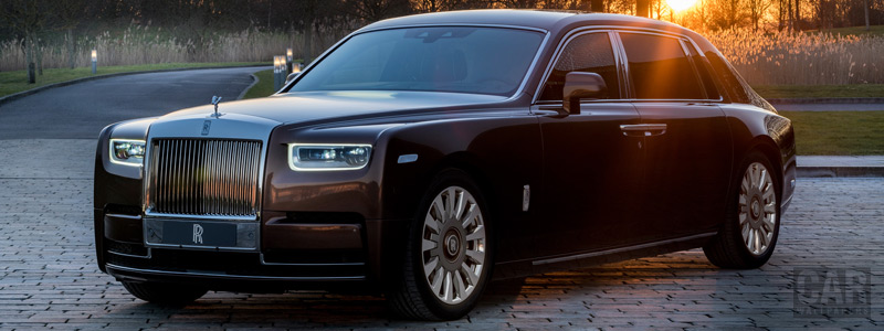 Обои автомобили Rolls-Royce Phantom EWB Privacy Suite Shanghai Motor Show - 2019 - Car wallpapers