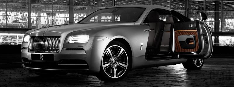 Обои автомобили Rolls-Royce Wraith Inspired By Film - 2015 - Car wallpapers