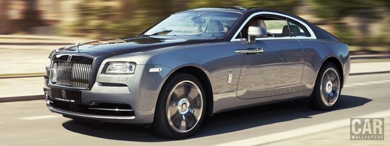 Обои автомобили Rolls-Royce Wraith - 2015 - Car wallpapers