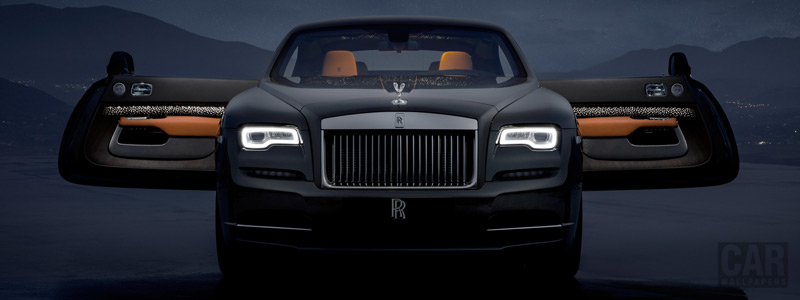Обои автомобили Rolls-Royce Wraith Luminary Collection - 2018 - Car wallpapers