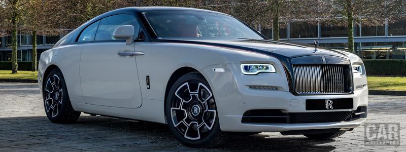 Обои автомобили Rolls-Royce Wraith Black Badge Shanghai Motor Show - 2019 - Car wallpapers
