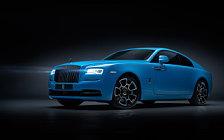Обои автомобили Rolls-Royce Wraith Black Badge - 2019