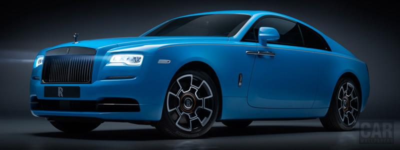 Обои автомобили Rolls-Royce Wraith Black Badge - 2019 - Car wallpapers