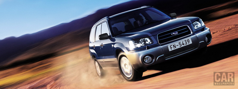 Cars wallpapers Subaru Forester 2.0 X - 2004 - Car wallpapers