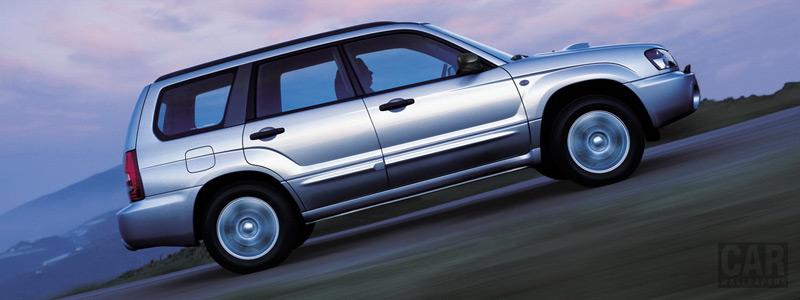 Cars wallpapers Subaru Forester 2.0 XT - 2004 - Car wallpapers