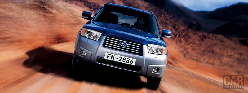 Cars wallpapers Subaru Forester 2.0 X - 2005 - Car wallpapers