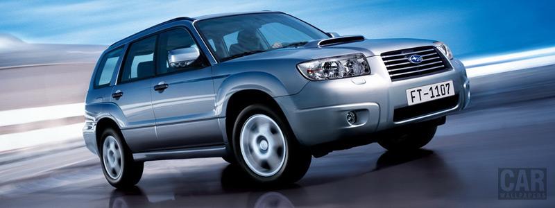 Cars wallpapers Subaru Forester 2.5 XT - 2005 - Car wallpapers