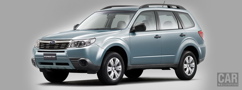 Cars wallpapers Subaru Forester 2.0 X - 2008 - Car wallpapers