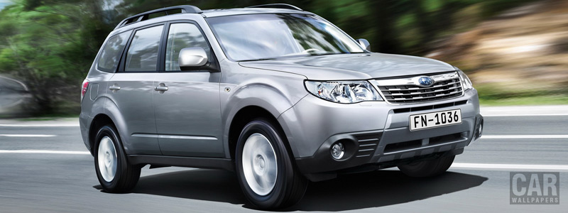 Cars wallpapers Subaru Forester 2.0 XS - 2008 - Car wallpapers