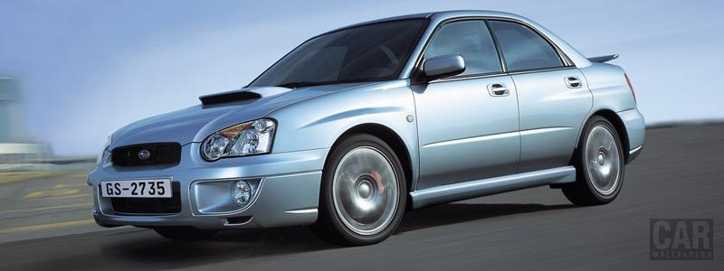 Cars wallpapers Subaru Impreza Sedan WRX - 2004 - Car wallpapers